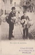 Bruxelles Porte Marchands De Souricières 1913 ??? - Petits Métiers