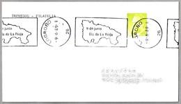 DIA DE LA RIOJA - MAPA - MAP. Logroño 1989 - Geografía