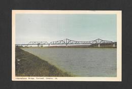CORNWALL - ONTARIO - INTERNATIONAL BRIDGE - PONT - PAR PECO - Ontario