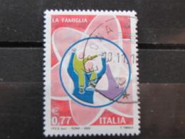 *ITALIA* USATI 2003 - ISTITUZIONI LA FAMIGLIA - SASSONE 2710 - LUSSO/FIOR DI STAMPA - 6. 1946-.. Repubblica