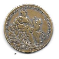 Jeton Allemand Famine De 1816 - 1817 Laiton Médaille Token - Noodgeld
