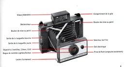 Appareil Photo Polaroid Land Automatique 210 Avec Boîte D'origine + Notice - Appareils Photo