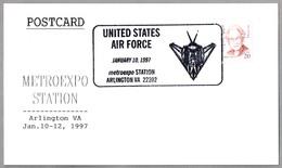 United States Air Force - Avion F-117 A NIGHTHAWK. Arlington VA 1997 - Militares