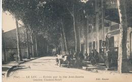 CPA - France - (83) Var - Le Luc - Entrée Par La Rue Jean-Jaures - Le Luc