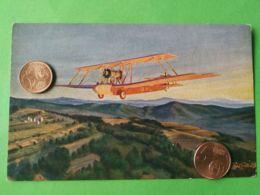AVIAZIONE  Biplano In Azione - Guerra 1939-45