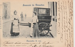Souvenier De Bruxelles Pianistes De Rue - Petits Métiers