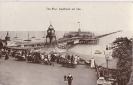 AS13 The Pier, Southend On Sea - RPPC - Southend, Westcliff & Leigh