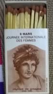 8 Mars: Journée Internationale Des Femmes: Olympe De Gouges - Boites D'allumettes