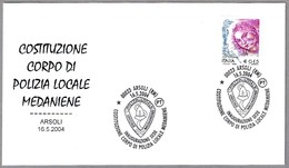 Inauguracion De La Sede De La POLICIA LOCAL MEDANIENE. Arsoli, Roma, 2004 - Policia – Guardia Civil