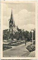 Szczecinek - Neustettin - Rosengarten - Nicolaikirche - Verlag Schöning & Co Lübeck - Pommern