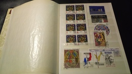D330 ALBUM TIMBRES MONDE NEUFS / OB A TRIER BELLE COTE DÉPART 10€ - Collections (en Albums)