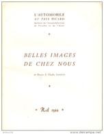 NOËL 1966 L'AUTOMOBILE AU PAYS PICARD BELLES IMAGES DE CHEZ NOUS - LIRE DESCRIPTIF - 2 Scans - - Picardie - Nord-Pas-de-Calais