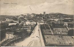 Perugia  -  Panorama.  (scan Verso) - Perugia