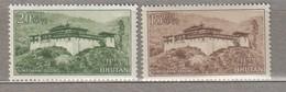 BHUTAN 1966 Definitive MNH Mi 84-85 #23633 - Bhoutan