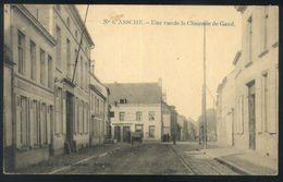X02 - Assche - Une Vue De La Chaussée De Gand - Verstuurd Naar St Amands - Asse