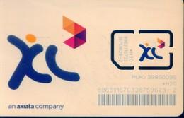 Indonesia GSM SIM Cards,  (1pcs,MINT) - Indonesia