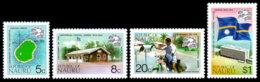 Nauru, 1974, UPU Centenary, Universal Postal Union, United Nations, MNH, Michel 111-114A - Nauru