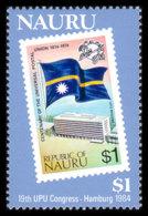 Nauru, 1984, UPU, World Postal Congress Hamburg, United Nations, MNH, Michel 283 - Nauru