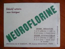 Buvard   NEUROFLORINE - Blotters