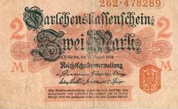 Germany  2 Mark  1914-08-12 - [ 2] 1871-1918 : Impero Tedesco