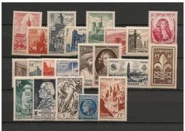 AÑOS COMPLETOS  ///  (C320) FRANCIA 1947 AÑO COMPLETO **MNH  CATALOG/COTE: 36€    ¡¡¡ OFERTA !!! - 1940-1949