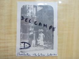 17 CHATELAILLON VILLA LA BRISE 1910 PHOTO - Châtelaillon-Plage