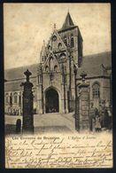 X02 - Les Environs De Bruxelles - L'Eglise D'Assche - Verstuurd Naar Ronse / Renaix 1902 - Asse