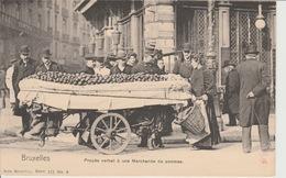 Bruxelles Marchande De Pommes - Petits Métiers