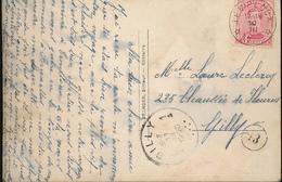 BELGIQUE CP RELAIS TEMPLOUX - 1915-1920 Albert I
