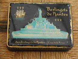 Boite Vide De Berlingots De Nantes - Other Collections