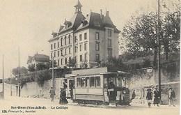 Tram, Straßenbahn,tramway, Serrières, Neuchâtel, Très Belle Carte - NE Neuchatel