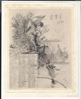 """HENRI BOUTET  Illustration Pour """" Eté 1882 """" - Lithografieën"""