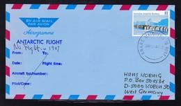 """AAT, MACQUARIE 1987, """"No Helicopter-Flight In 1987 """" !! Look Scan !! 17.11-36 - Brieven En Documenten"""