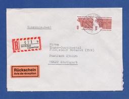 Bund R-Brief Einschreiben MeF Semperoper Dresden - BAD LIPPSPRINGE - [7] Federal Republic