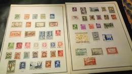 D332 LOT FEUILLES TIMBRES COLONIES NEUFS / OB A TRIER BELLE COTE DÉPART 10€ - Collections (en Albums)