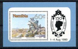 Namibia, 1990, Landscapes, Scenery, MNH, Michel Block 12 - Namibie (1990- ...)