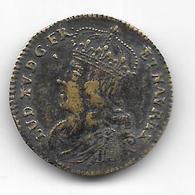 Jeton France Louis XV Token Laiton Brass - Royal / Of Nobility
