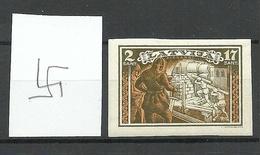 LETTLAND Latvia 1932 Michel 194 B NORMAL WM 5 Y * - Lettonie