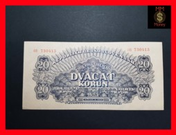 CZECHOSLOVAKIA  20 Korun 1944  P. 47 S  SPECIMEN  UNC - Tchécoslovaquie