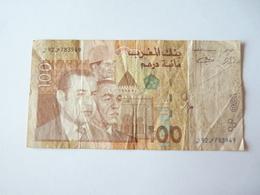 A Vendre Billet De 100 Dirhams  . Petit Prix De Départ - Maroc