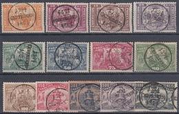 PORTUGAL 1894 SERIE CONMEMORATIVA DEL NACIMI. DE DON HENRIQUE AVIZ CIRCU. ENTRE EL 4 Y 13 DE MARZO 1894 - 1892-1898 : D.Carlos I