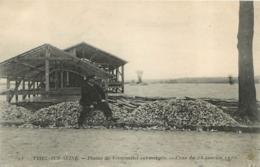TRIEL  SUR SEINE PLAINE DE VERNOUILLET SUBMERGEE CRUE DE JANVIER 1910 - Triel Sur Seine