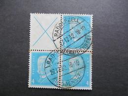 DR-ZD Nr. W 26 Gestempelt, Block *DEL1017* - Se-Tenant
