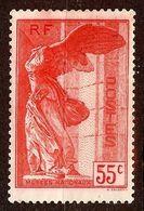 SAMOTHRACE N°355 55c Rouge NEUF Sans GOMME - Neufs