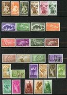 Sahara Espagnol, Yvert Faune Complète 1951/1974 (sauf 251/253), All Fauna Stamps (excl.251/253), MNH - Timbres