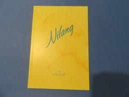 1 Petit Livret Lalique Nilang - Cartes Parfumées