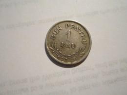 ---------------1--PIÈCE  1  LEU--1924--FERDINAND-I--ROUMANIE---TTB+++----------- - Roumanie