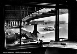 Berlin - Tempelhof - Zentralflughafen /Rollfeld Avions - Tempelhof