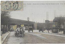 PARIS 75 SEINE 562 BOULEVARD DE BERCY PONT DU CHEMIN DE FER EDIT. C.L.C  JCT&D - France