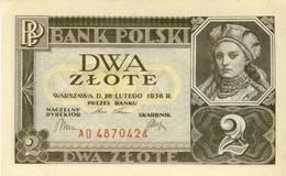 Poland  2 Zlote 1936 - Pologne